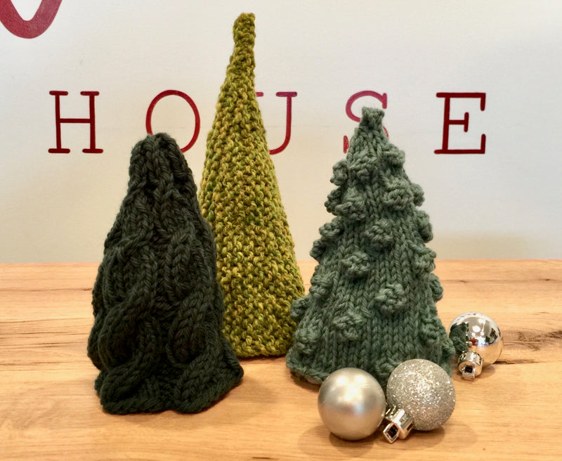 KIT: Knit House Holiday Trees