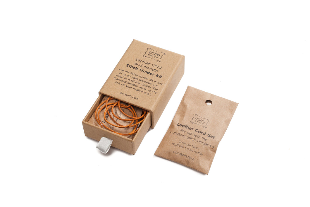 Cocoknits - Leather Cord & Needle Stitch Holder Kit