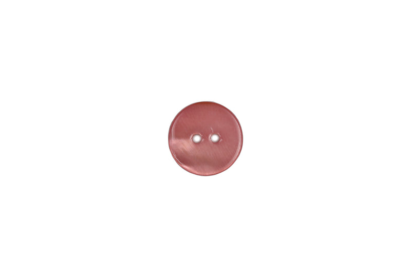 Skacel Collection - Button, Dusty Rose Shell Round, 15 mm