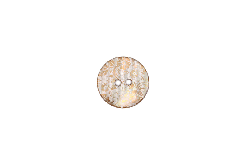 Skacel Collection - Button, Flower Shell, 18 mm
