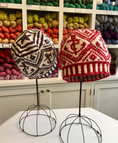 KIT: Nautical Fair Isle Hat for Knit House