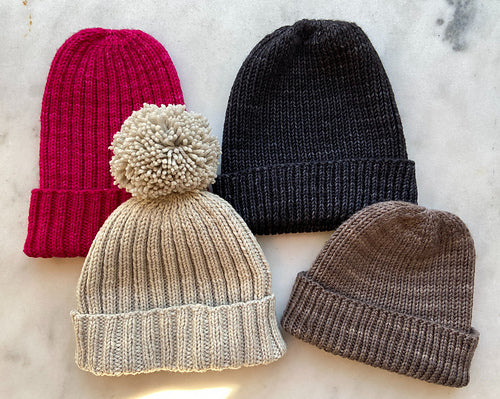 Knit House Ribbed Hat