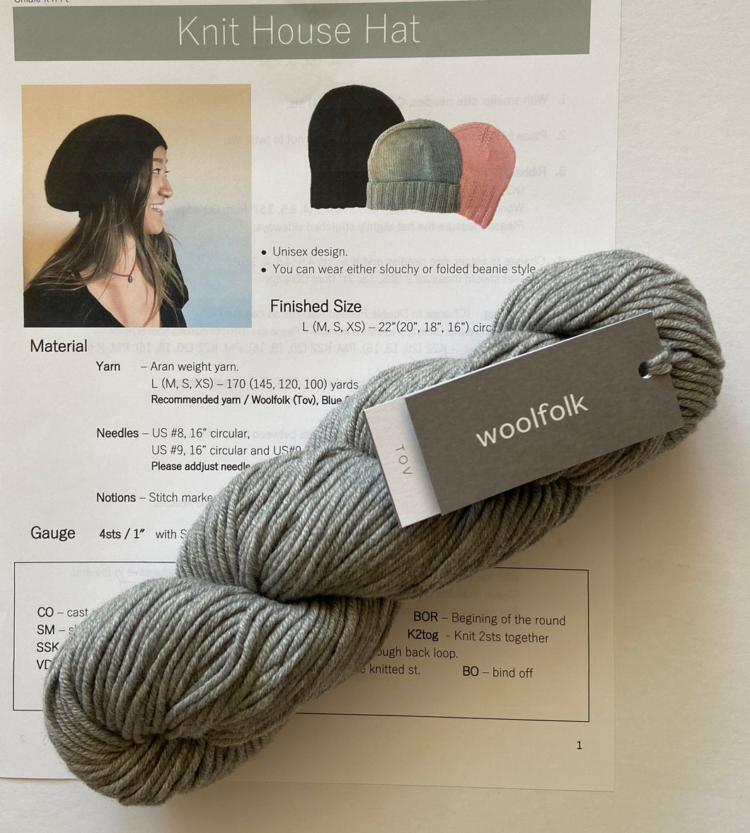 KIT: The Knit House Hat