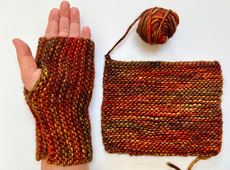 FREE: Simple Handwarmers Pattern