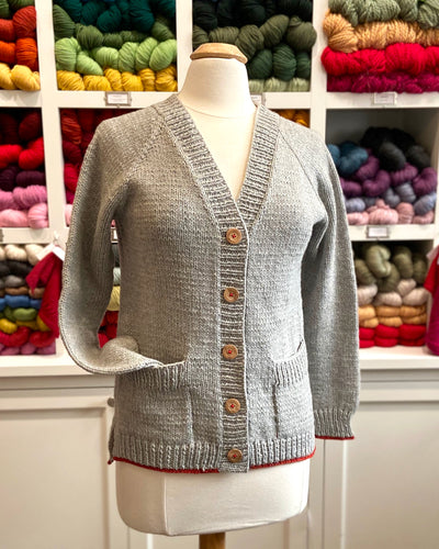 2020 Knit House Cardigan KAL (Knit-a-Long)