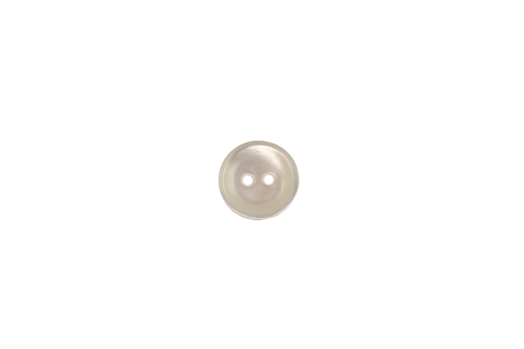 Skacel Collection - Button, Off-White Vintage Shell Round, 12 mm