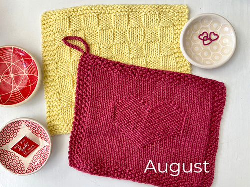 CLASS: Washcloth ONE / Garden Gathering at