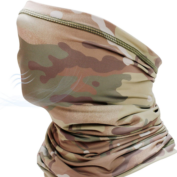 Protective Ultra-Lightweight Cooling Microfiber Multifunctional Neck Gaiter