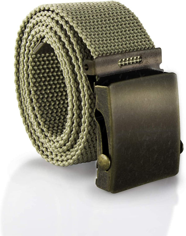 MJMP Military-style Web Belt/Adjustable belt/Men casual adjustable belt