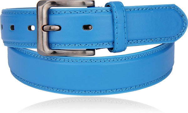 Men's Classic 1.3 inch Casual Faux Leather Belt - 9907
