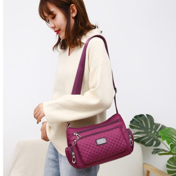 Women's Waterproof Nylon Shoulder Crossbody Bag