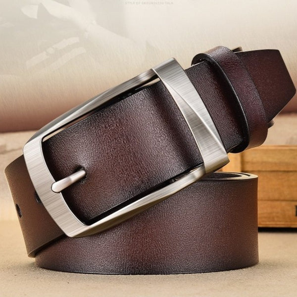 Men's Authentic Business Leather Belt