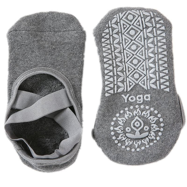Cotton Anti-Slip Quick-Dry Yoga Socks
