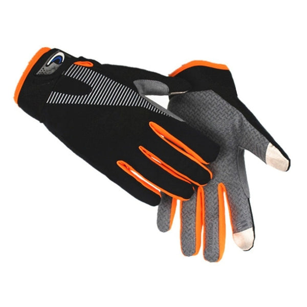 Men's High Elasticity Outdoor Breathable Gloves with Anti-slip Touch Screen Compatible