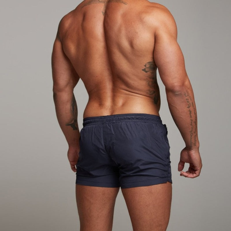 Men's Beach Briefs Sports Surf Swim Trunks