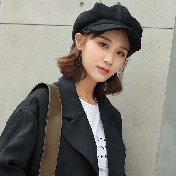 Women's Newsboys Artist Beret Hat