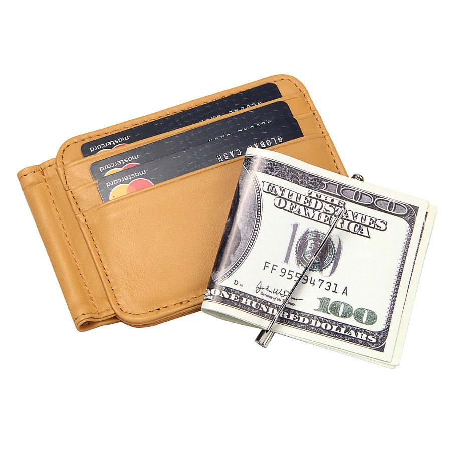 Men's Vintage Leather Bifold Wallet