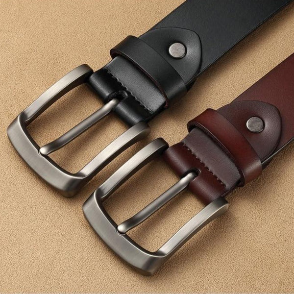 Men's Genuine Leather High-Quality Luxury Belt