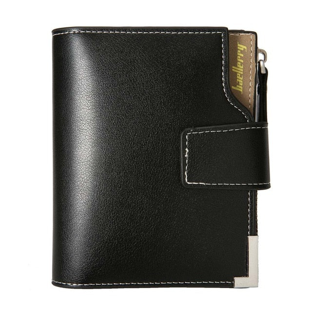 Men's Leather ID Wallet