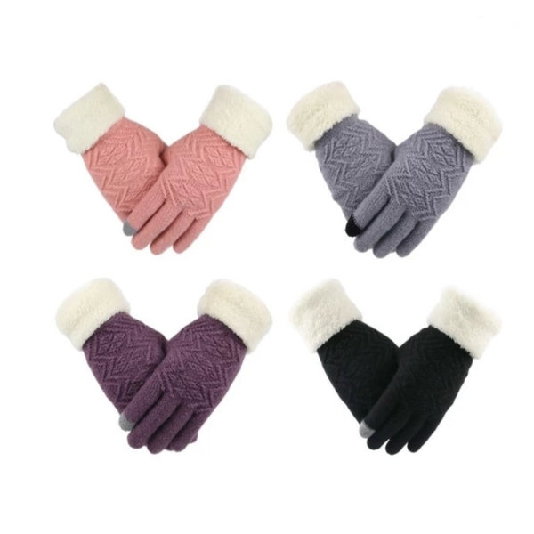 Women's Winter Touch Screen Knitted Gloves
