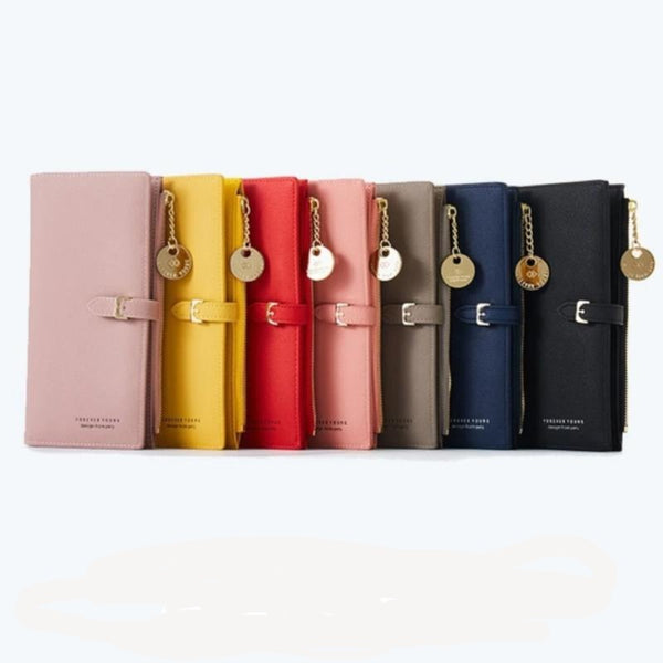 Women's Wristband Style Long Wallet Clutch