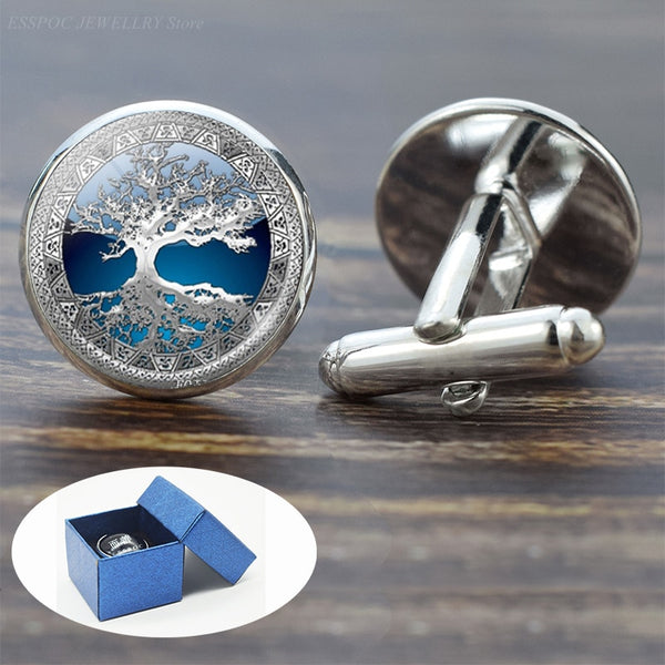 Men's Tree of Life Cufflinks