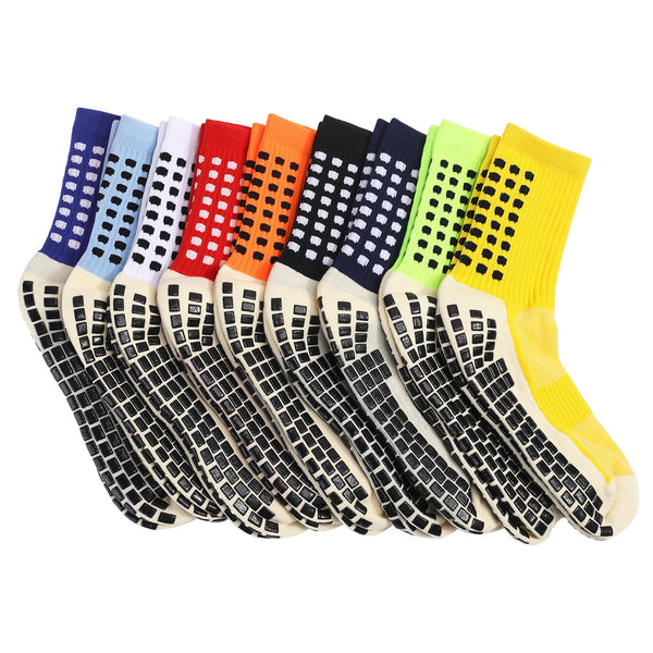 Men's Anti Slip Athletic Grip Socks