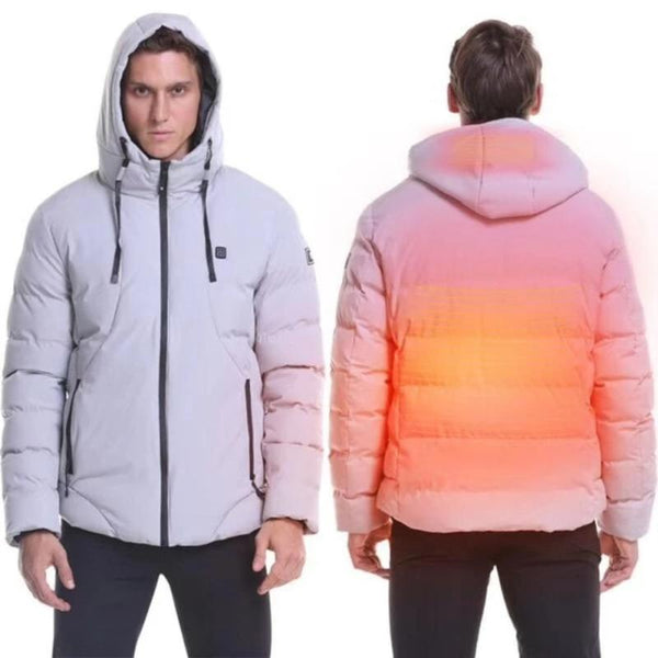 Men's Waterproof Electric Heated Winter Jacket