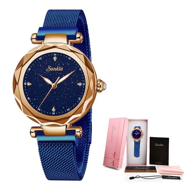 Women's Simple Fashion Quartz Casual Waterproof Wristwatch
