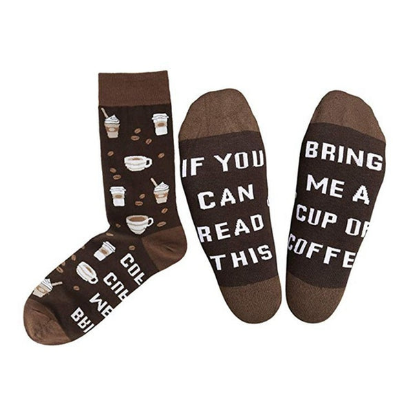 Men's Printed If You Can Read This Socks