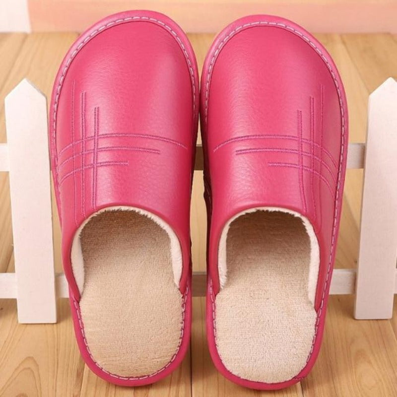 Men's Plush Indoor Slippers