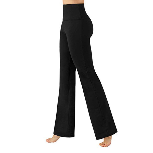 Women's Loose Cozy Tummy Control Solid Pants