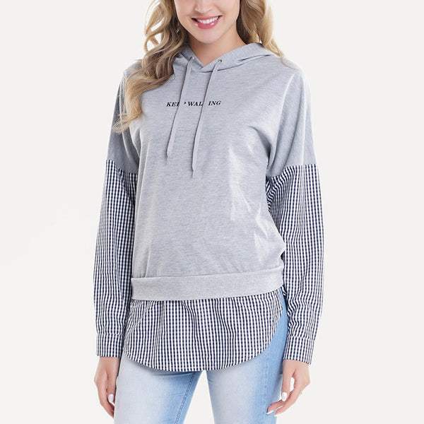 Women's Plus Size Hooded Sweatshirt