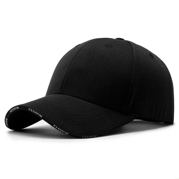Adult Unisex Solid Adjustable Baseball Cap