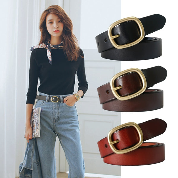Women's Classic Genuine Leather Belt