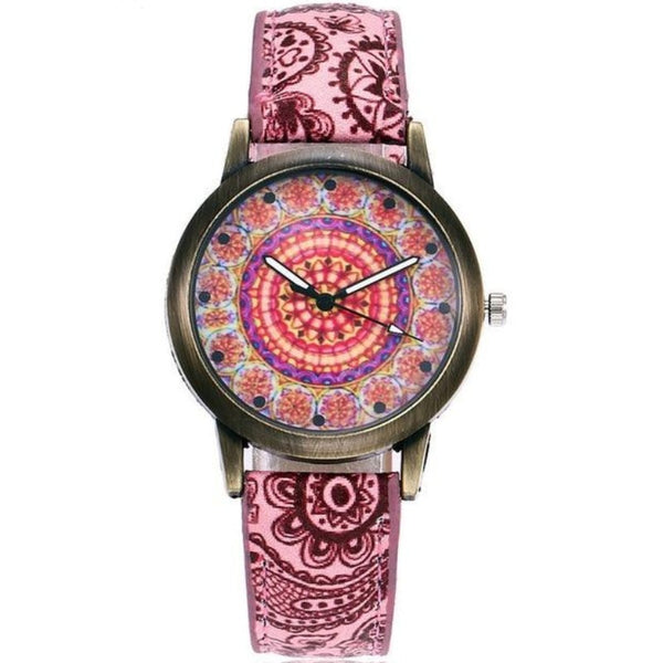 Women's Creative Flower Watch