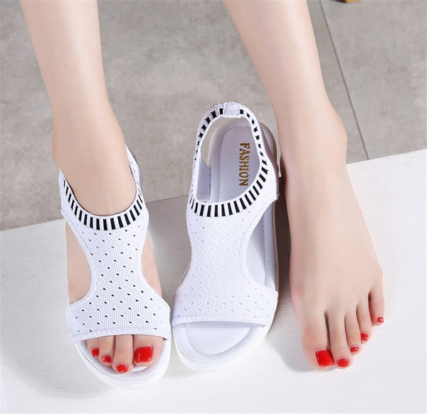 Women's Summer Wedge Comfort Slingback Sandals