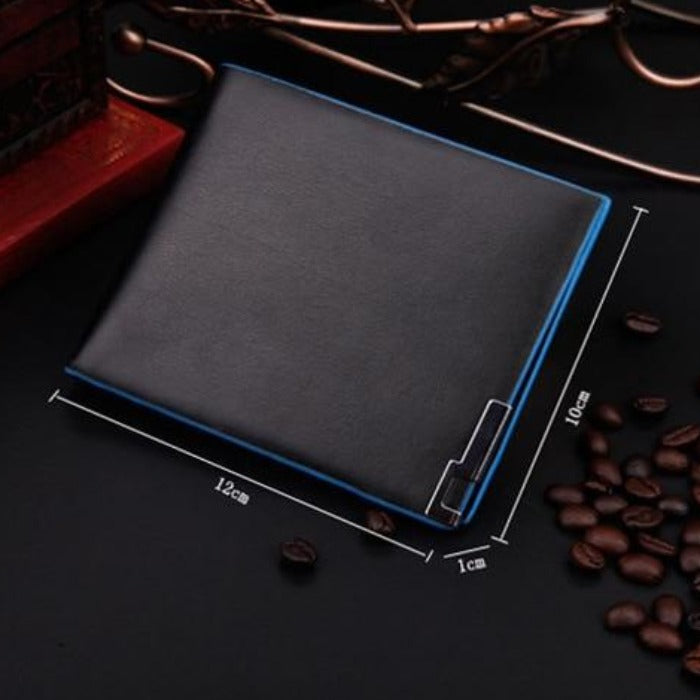 Men's Stylish Bifold Business Leather Wallet