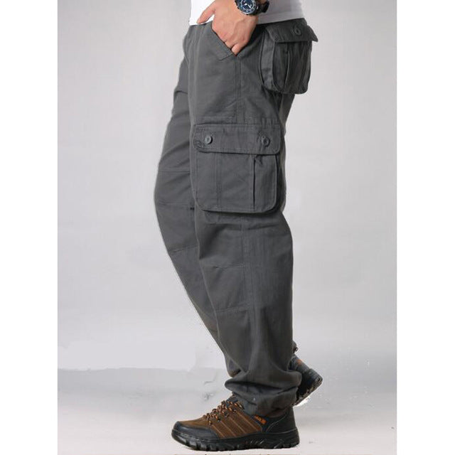 Men's Multi-Pocket Cargo Pants