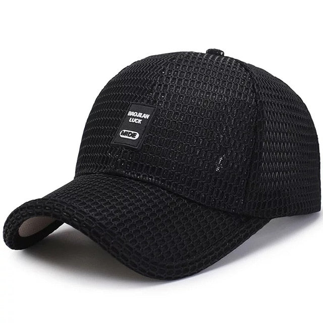 Men's Breathable Curved Baseball Hat