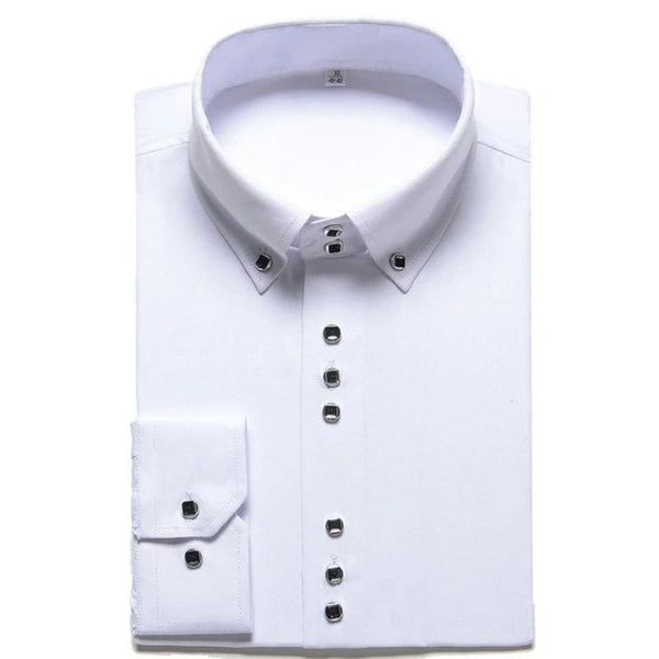 Men's Formal Button-Down Shirt