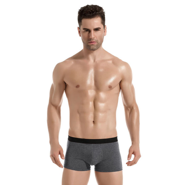 Men's 4 Pack Cotton Breathable Boxer Briefs