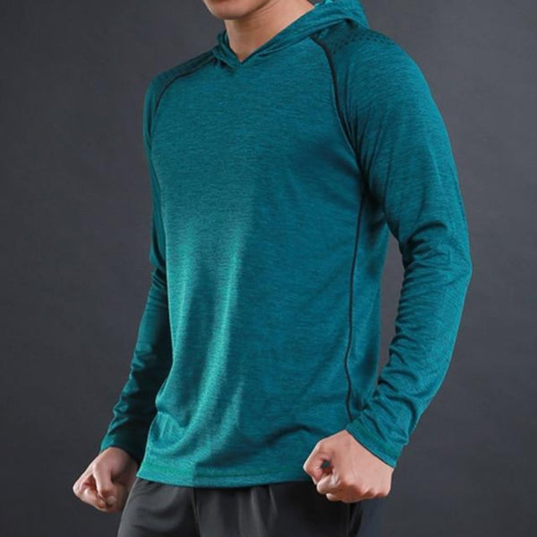 Men's Night Reflective Sportswear Fitness Hoodie