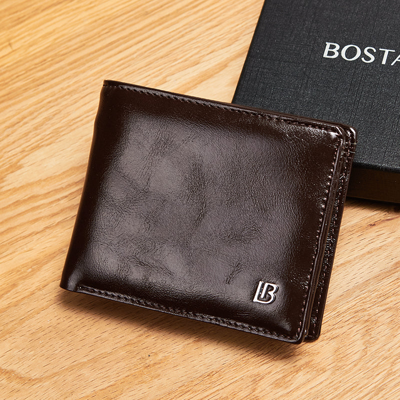 Men's Classic Genuine Leather Wallet