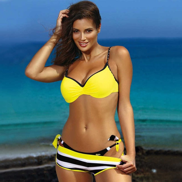 Women's Three-Piece Swimsuit Set