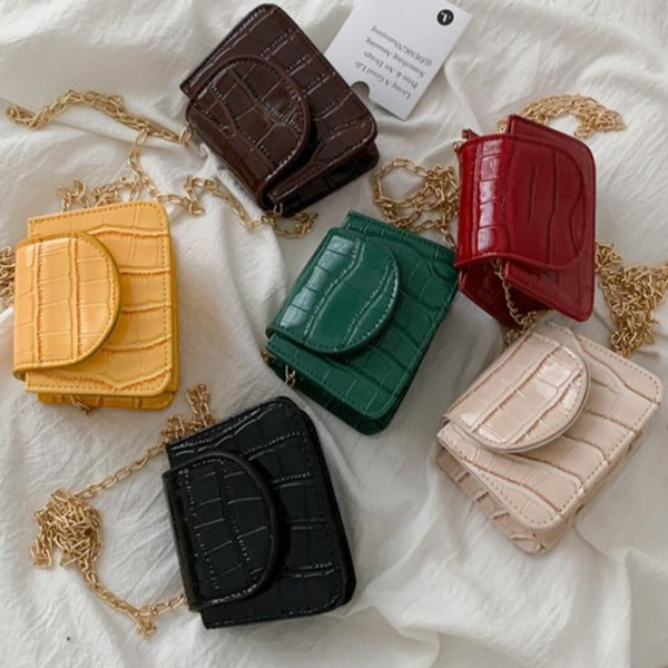 Women's Mini Square Flap Handbag