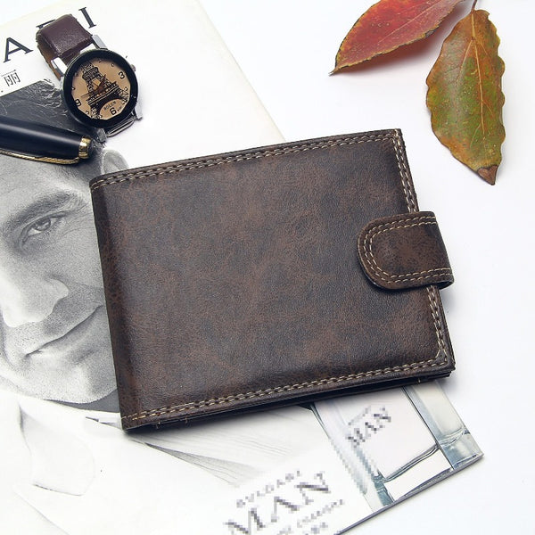 Men's Bifold Luxury Designer Wallet