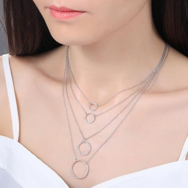 Women's 925 Sterling Silver Necklace