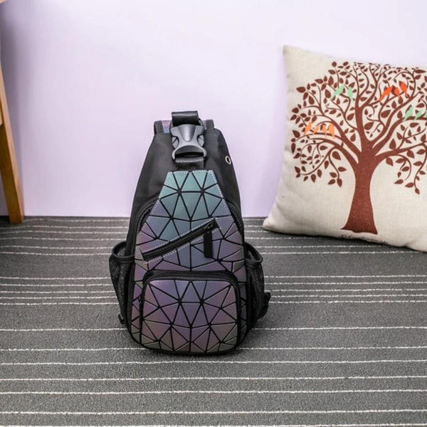 Women's Holographic Messenger Crossbody Bag