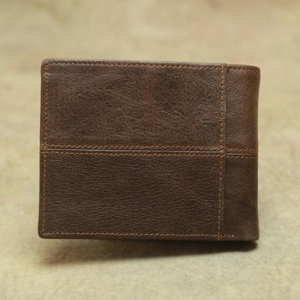 Men's Vintage Genuine Leather Wallet